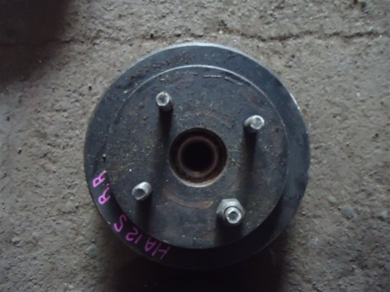 Тормозной диск Suzuki Alto HA12S F6A задний