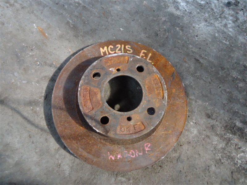 Тормозной диск Suzuki Wagon R MC21S K6A передний