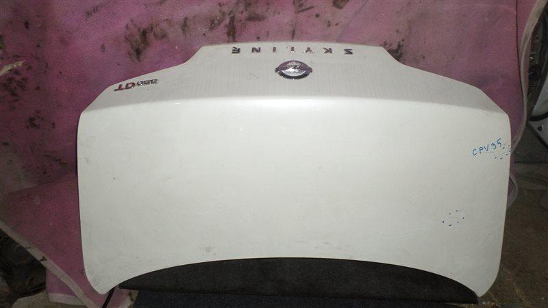 Крышка багажника Nissan Skyline CPV35