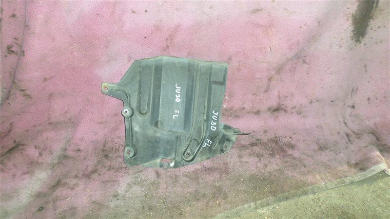 Защита двигателя Nissan Bassara JU30 KA24DE передняя левая