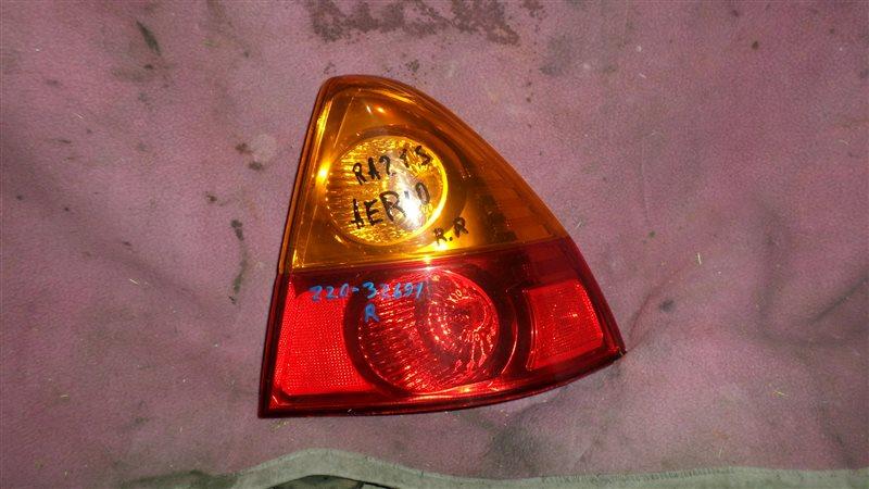 Стоп Suzuki Aerio RA21S задний правый