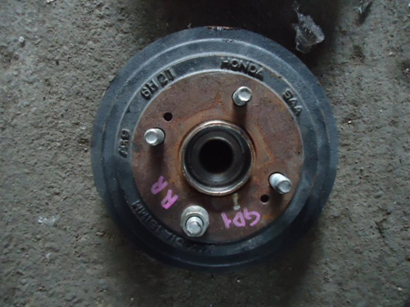Тормозной диск Honda Fit GD1 L13A задний