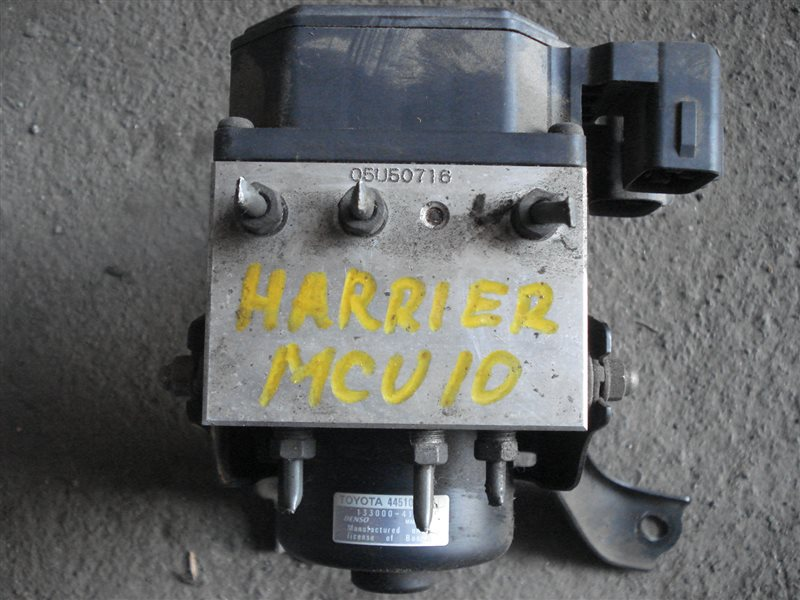 Блок abs Toyota Harrier MCU10 1MZ-FE