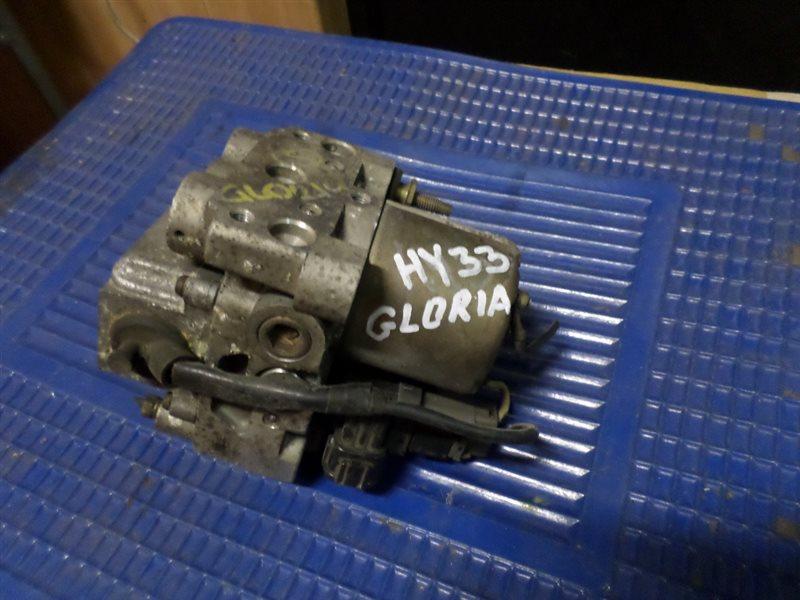 Блок abs Nissan Gloria HY33 VQ30DE