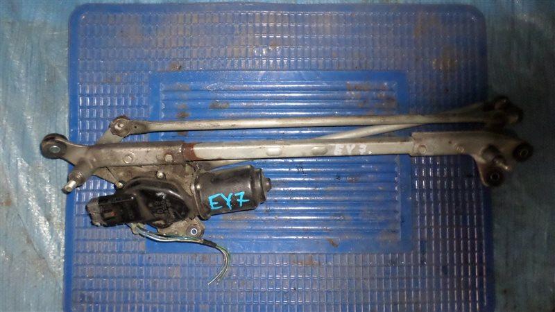 Мотор стеклоочистителя Honda Orthia EY7 D15B передний