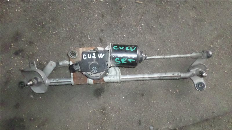 Мотор стеклоочистителя Mitsubishi Airtrek CU2W 4G63 передний