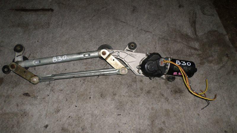 Мотор стеклоочистителя Nissan Lafesta B30 MR20 2005 передний
