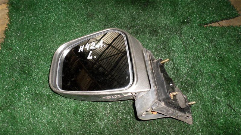 Зеркало Mitsubishi Toppo Bj H42A переднее левое