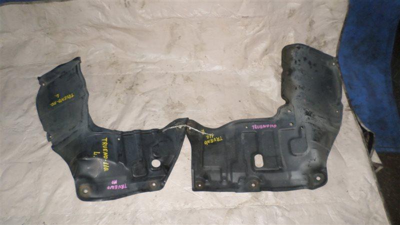 Защита двигателя Toyota Trueno AE110 4A-GE передняя