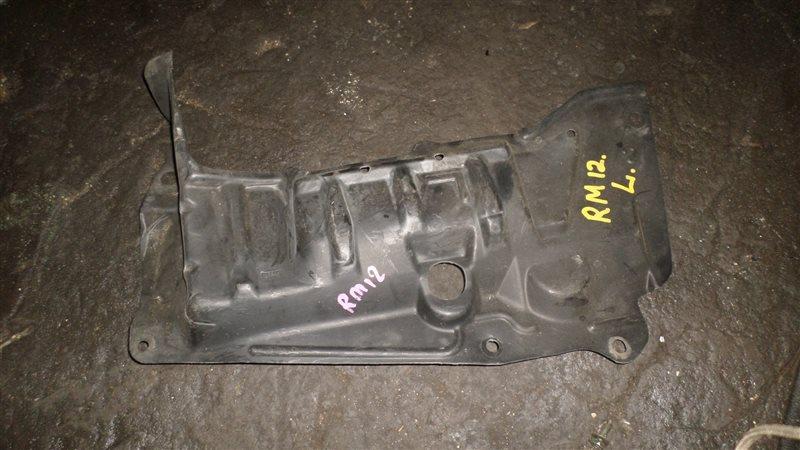 Защита двигателя Nissan Liberty RM12 QR20DE передняя левая