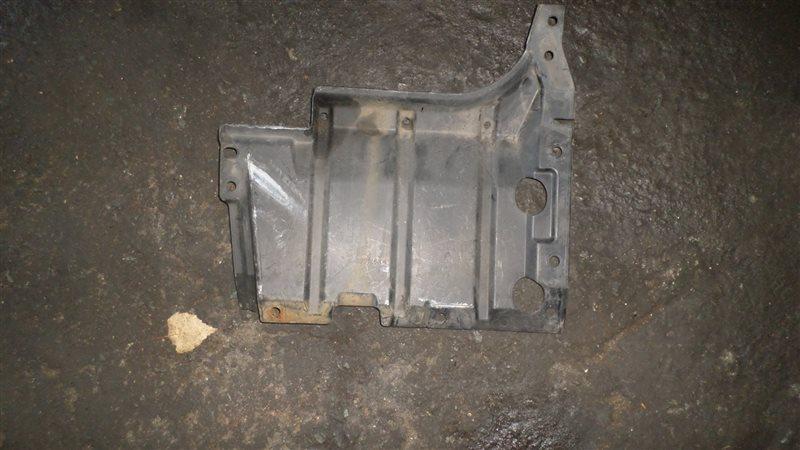 Защита двигателя Mitsubishi Dingo CQ2A 4G15 левая