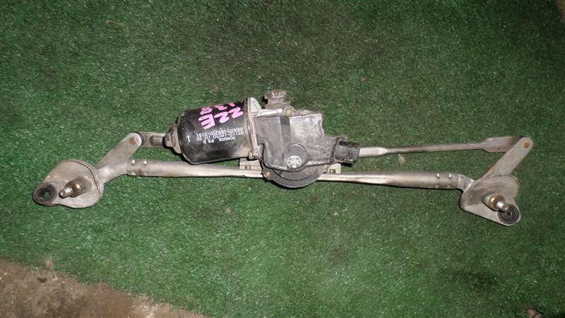 Мотор стеклоочистителя Toyota Voltz ZZE138 1ZZ-FE передний
