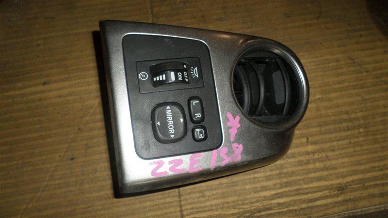 Блок управления зеркалами Toyota Voltz ZZE138 1ZZ-FE