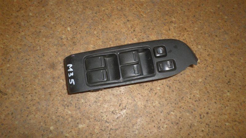 Блок управления стеклами Nissan Stagea M35 VQ25DD передний правый