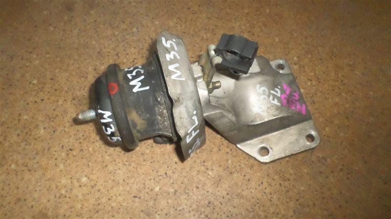 Подушка двигателя Nissan Stagea M35 VQ25DD передняя левая