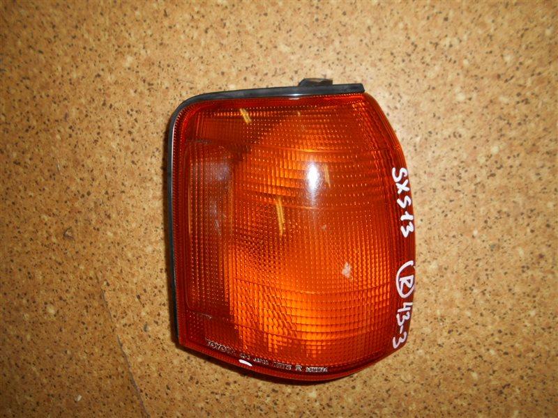 Габарит Toyota Crown Comfort SXS13 передний правый
