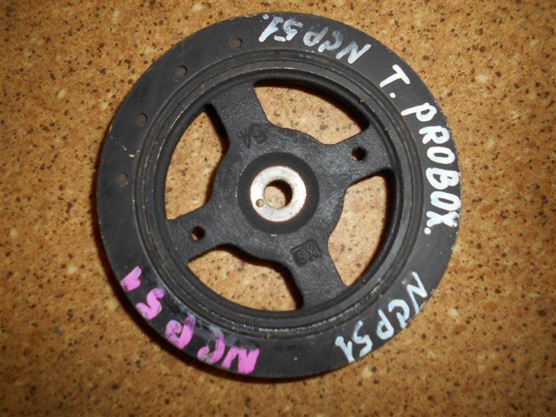 Шкив коленвала Toyota Succeed NCP51 1NZ-FE