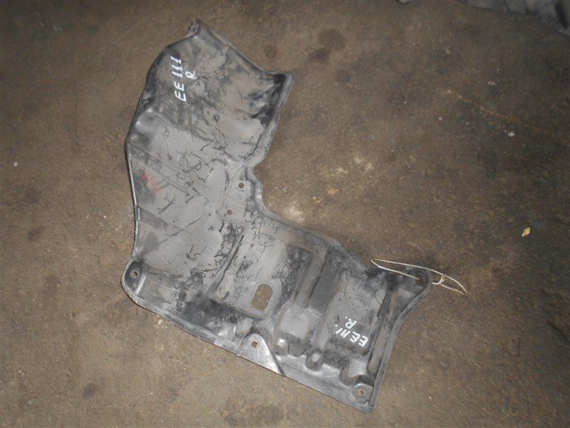 Защита двигателя Toyota Corolla EE111 4E-FE передняя правая