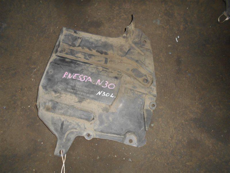 Защита двигателя Nissan R'nessa N30 SR20DE передняя левая