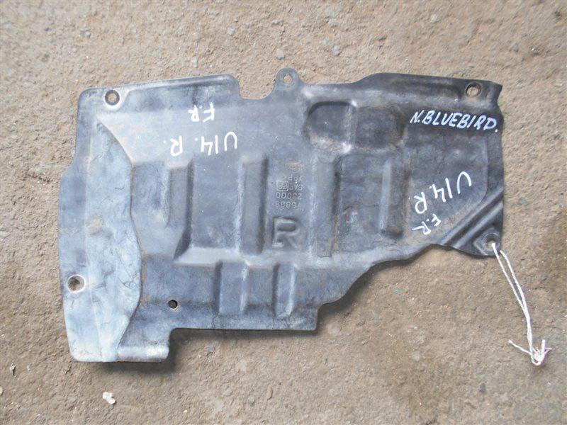 Защита двигателя Nissan Bluebird U14 SR18DE передняя правая