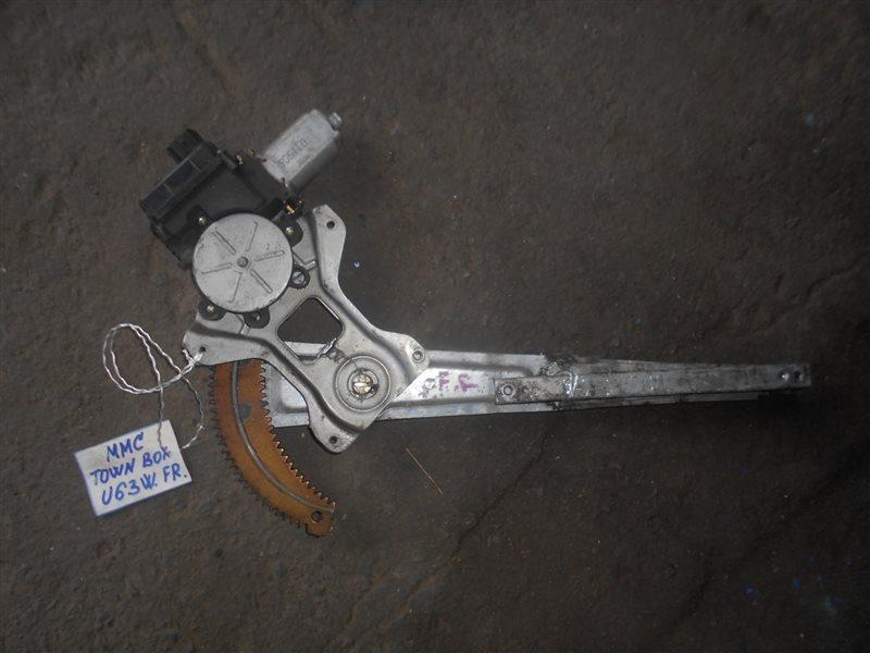 Стеклоподъемный механизм Mitsubishi Town Box U63W 4A30 передний правый