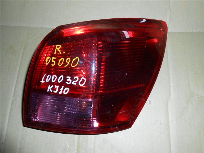 Стоп Nissan Dualis KJ10 задний правый