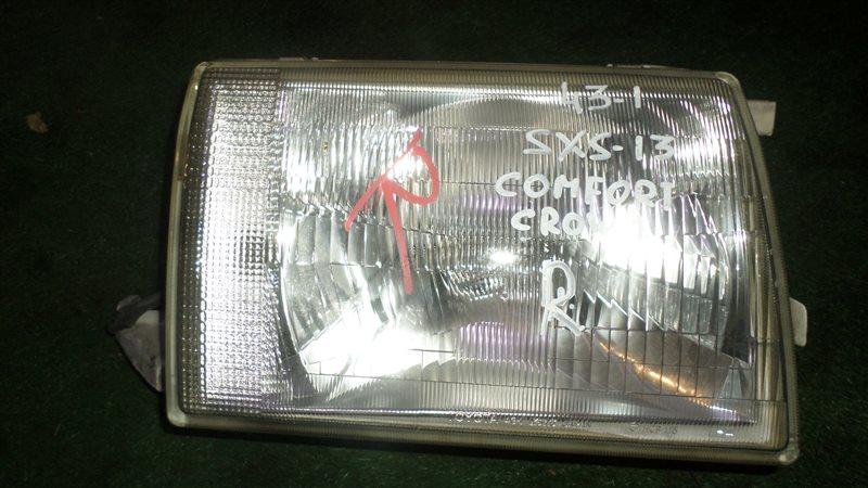 Фара Toyota Crown Comfort SXS13 передняя правая
