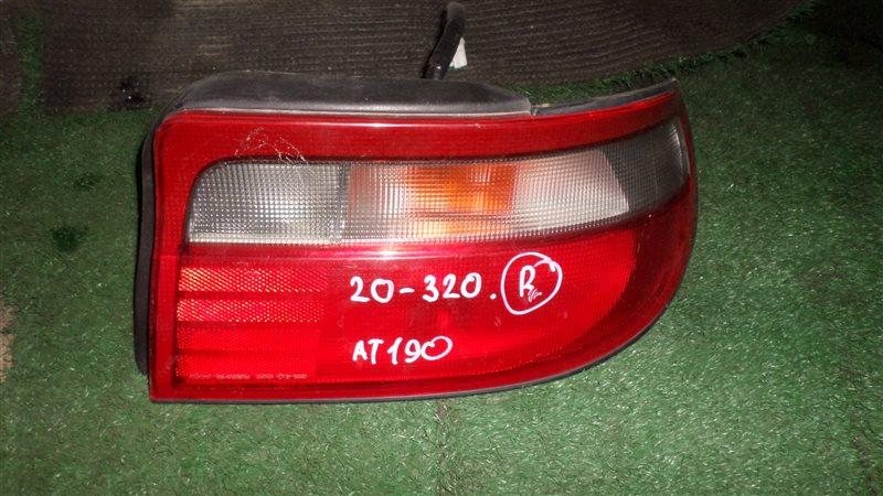 Стоп Toyota Carina AT192 задний правый