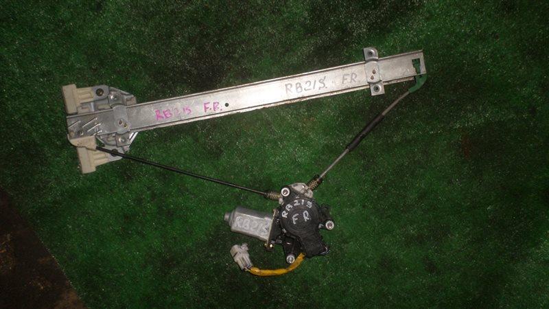 Стеклоподъемный механизм Suzuki Aerio RB21S M15A передний правый