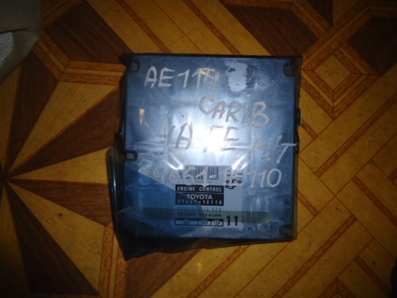 Блок efi Toyota Carib AE114 4A-FE