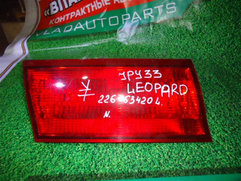 Стоп-планка Nissan Leopard JPY33 задняя левая