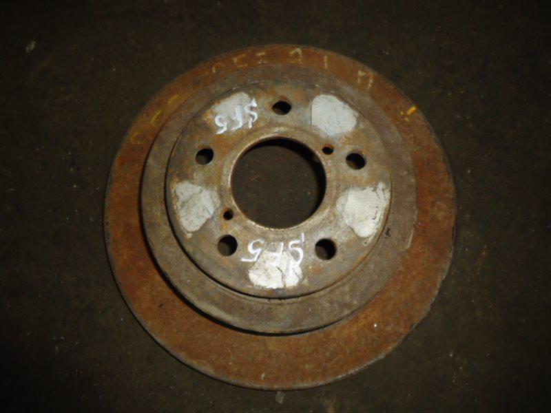 Тормозной диск Subaru Forester SF5 EJ20T задний