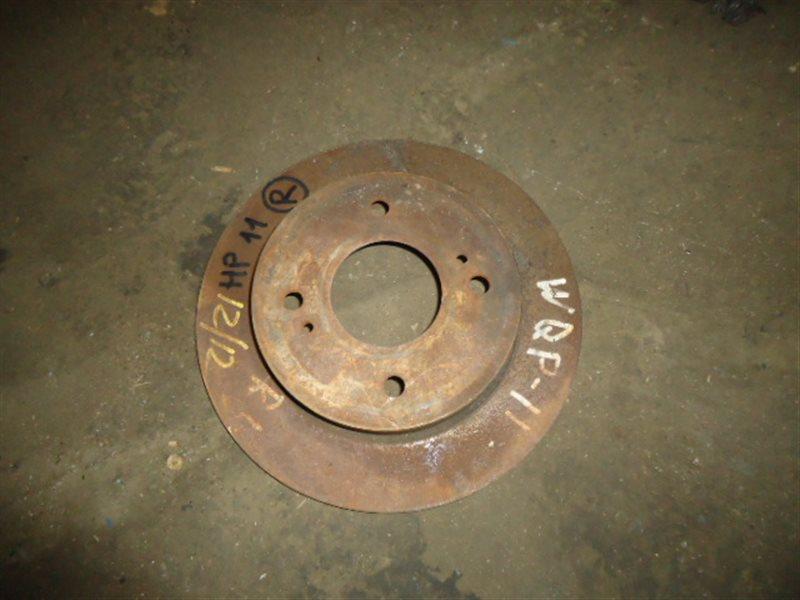 Тормозной диск Nissan Primera HP11 SR20DE задний