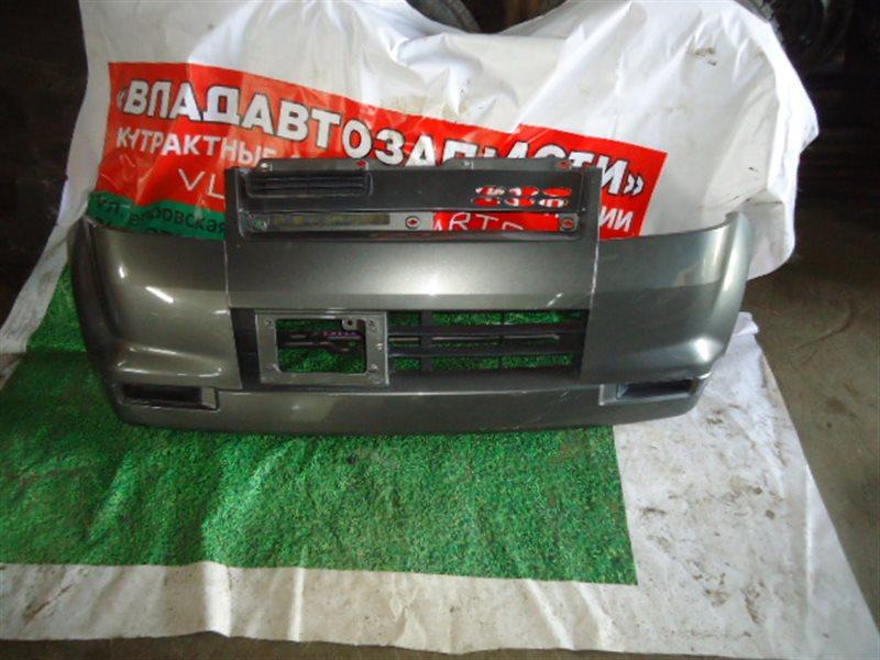 Бампер Mitsubishi Ek Wagon H81W передний