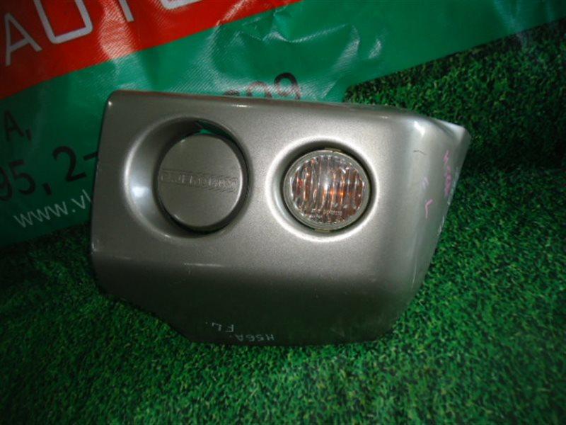 Клык бампера Mitsubishi Pajero Mini H58A передний левый