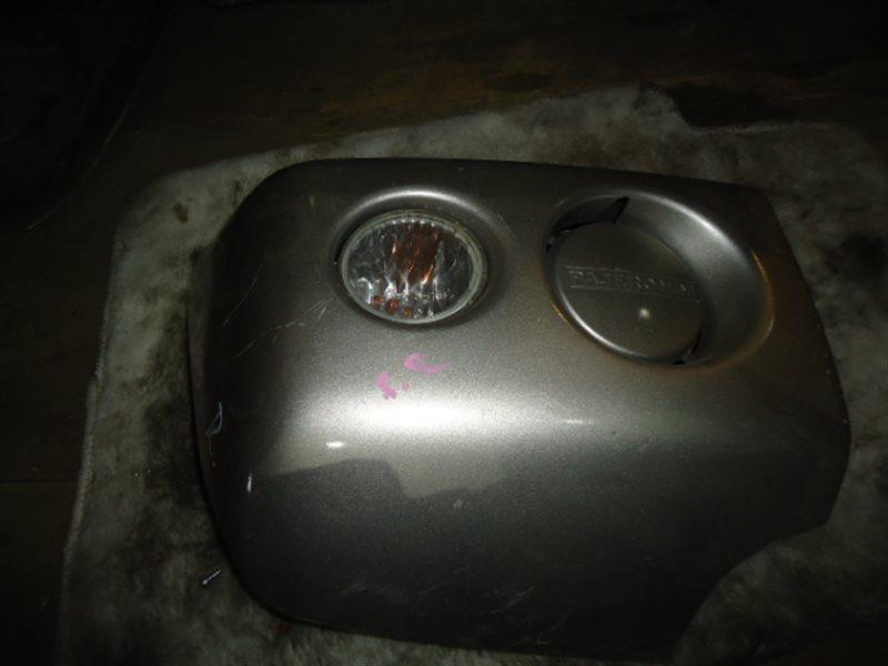Клык бампера Mitsubishi Pajero Mini H58A правый