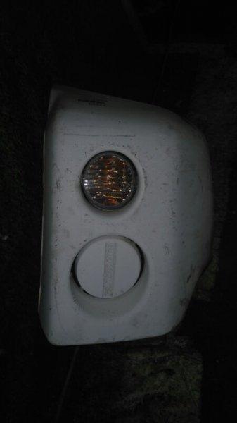 Клык бампера Mitsubishi Pajero Mini H53A 4A30 передний левый