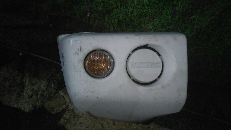 Клык бампера Mitsubishi Pajero Mini H53A 4A30 передний правый