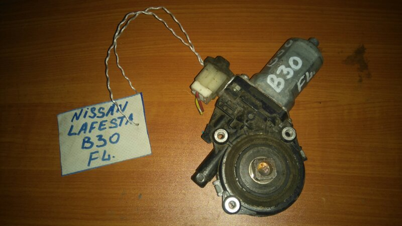 Стеклоподъемный механизм Nissan Lafesta B30 MR20 передний левый