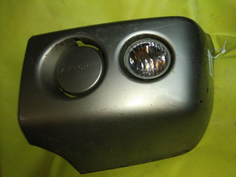 Клык бампера Mitsubishi Pajero Mini H58A 4A30 передний левый