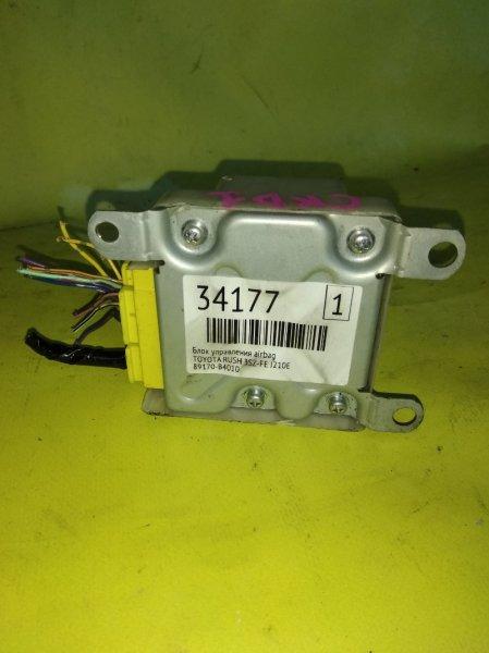 Блок управления airbag Toyota Rush J210E 3SZ-FE