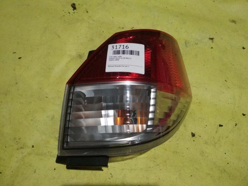 Стоп Suzuki Solio MA15S K12B задний правый