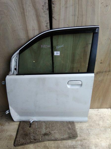 Дверь Mitsubishi Ek Wagon H81W 3G83 передняя левая
