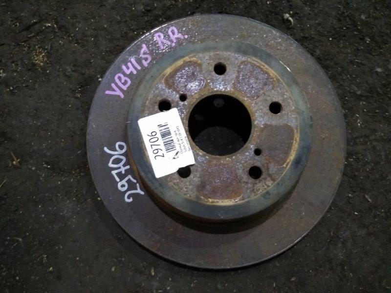 Тормозной диск Suzuki Sx4 YB41S J20A задний