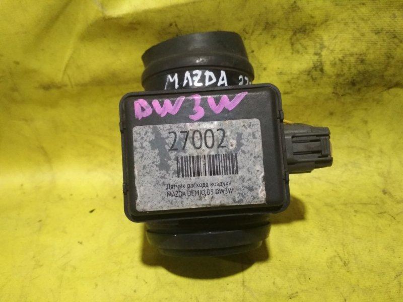 Датчик расхода воздуха Mazda Demio DW3W B3
