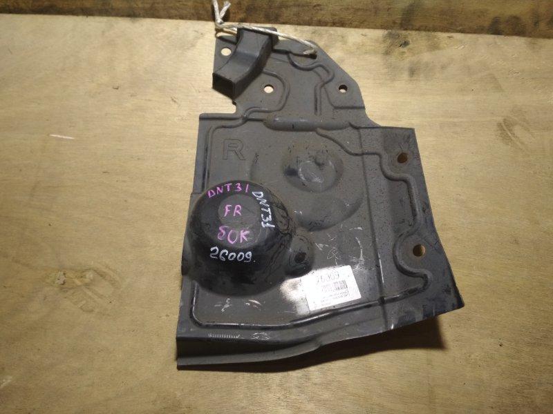 Защита двигателя Nissan X-Trail DNT31 M9R передняя правая
