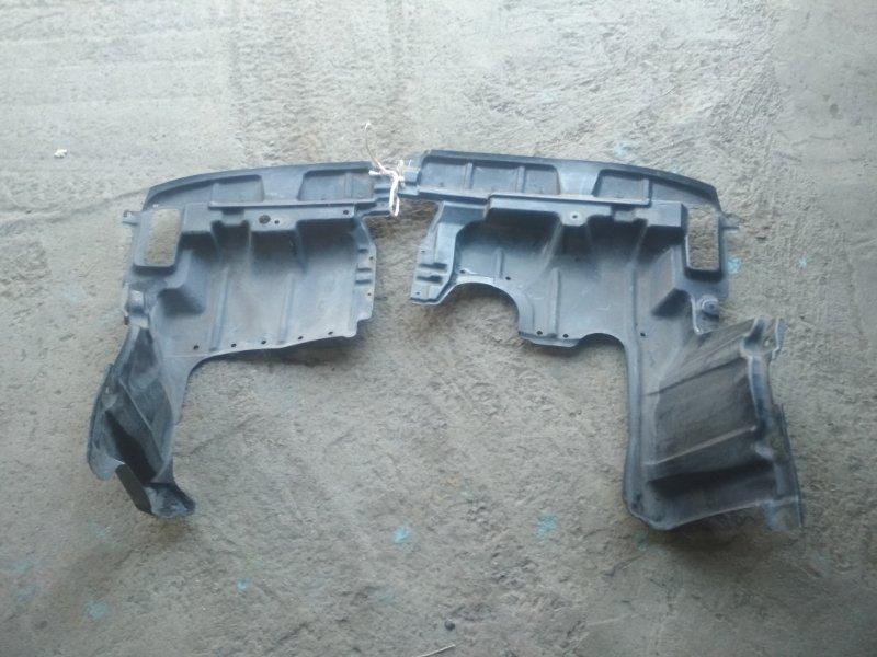 Защита двигателя Toyota Isis ZNM10 1ZZ-FE