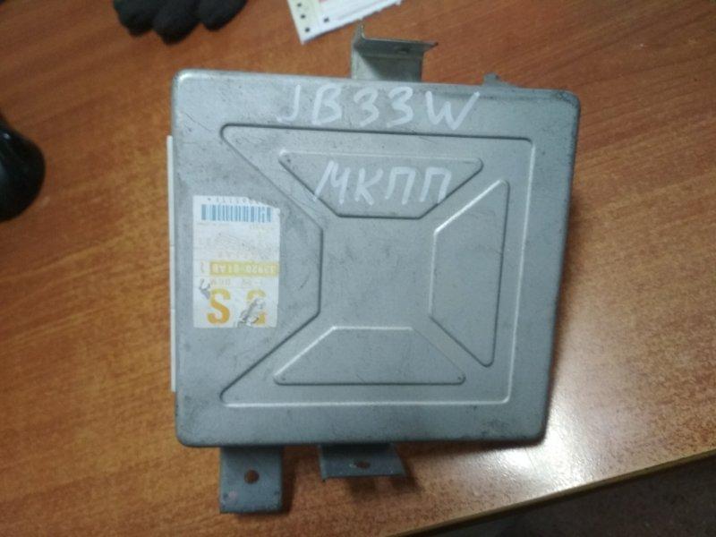 Блок efi Suzuki Jimny JB33 G13B