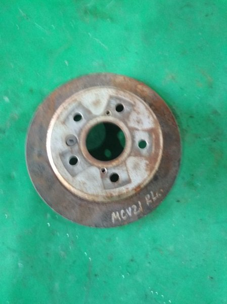 Тормозной диск Toyota Windom MCV21 2MZ-FE задний