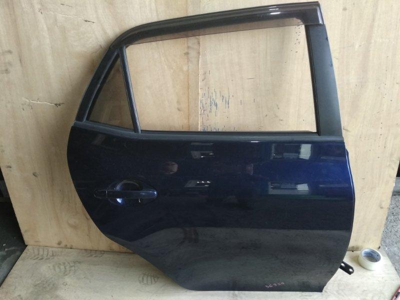 Дверь Toyota Auris ZRE152 2ZR-FE задняя правая
